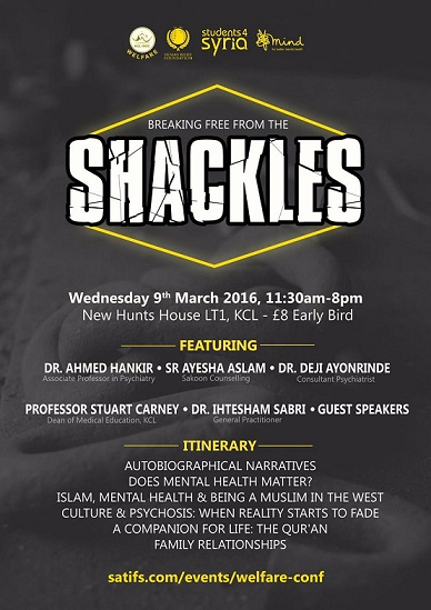 Islam and Mental Health event
