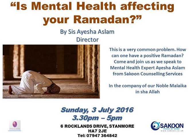 Islam and mental Health flyer
