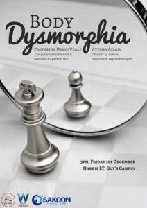 Body Dysmorphia event on mental health