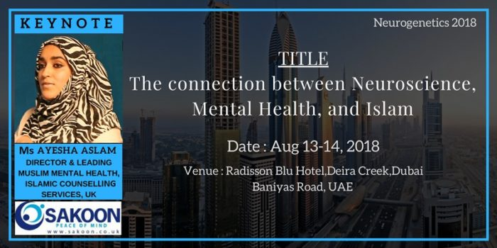 Connection between Neuroscience, Mental Health and Islam, Dubai