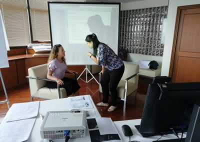 Islamic cunselling training Role plays Thailand