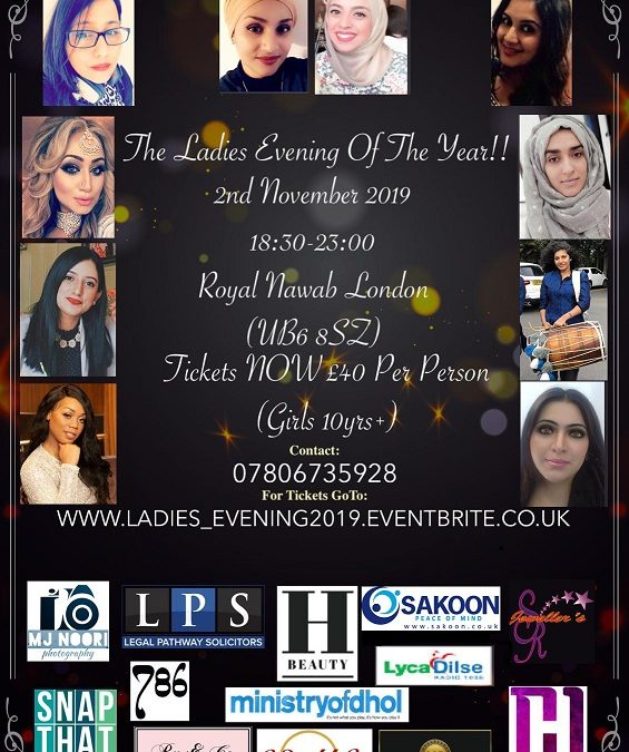 Ladies evening of the year