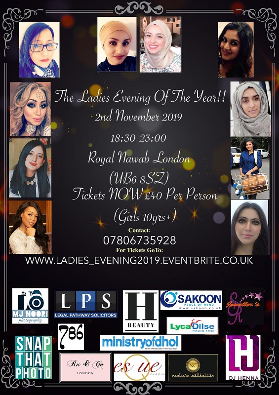 yesha Aslam Muslim Mental Health at the Ladies evening of the year