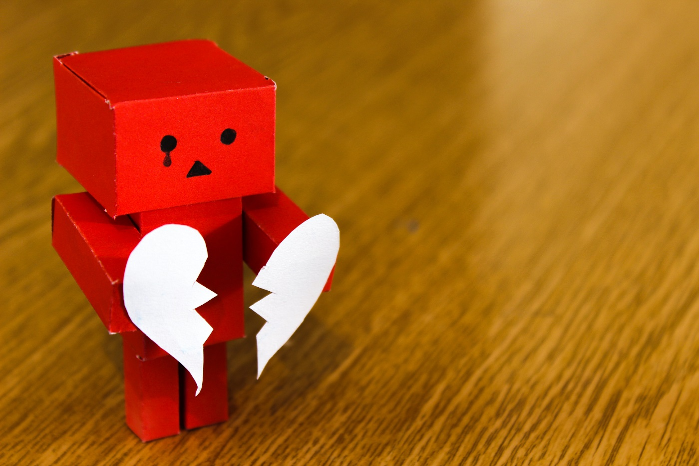 Cheating heart with robot